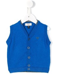Armani Junior Sleeveless Cardigan