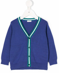 Il Gufo Stripe Trim Cardigan