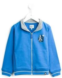 Armani Junior Zipped Up Cardigan