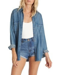 Blues river chambray shirt medium 1159226