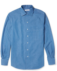 Andre cotton chambray shirt medium 307657