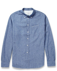 Officine Generale Cotton Chambray Shirt
