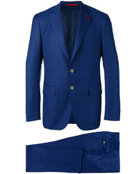 Isaia Checked Dinner Suit