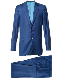 Isaia Checked Suit