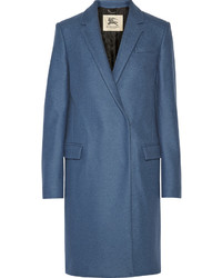 Burberry London Double Breasted Wool Coat