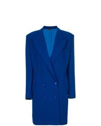 Versace Vintage Padded Shoulder Coat