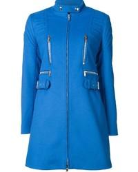 Ribbed slim fit coat medium 836012