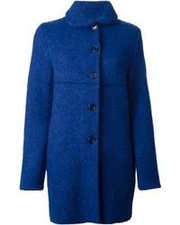 Aspesi Textured Buttoned Coat