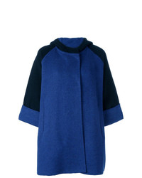 Gianluca Capannolo Two Tone Hooded Coat