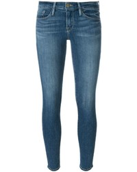 Denim le skinny de jeanne cropped jeans medium 654696