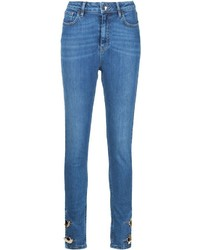 Skinny button ankle jeans medium 530853