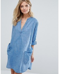 Seafolly Chambray Beach Cover Up