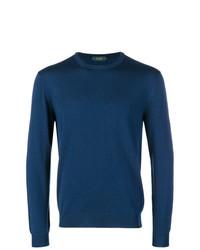 Zanone Round Neck Sweater