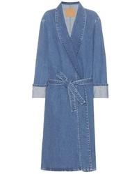 Blue Denim Coat