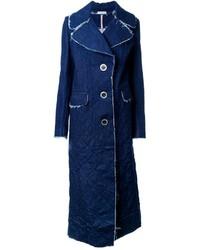 Natasha Zinko Denim Single Breasted Coat