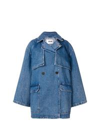 MSGM Hooded Denim Coat