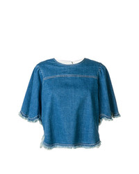 See by Chloe See By Chlo Denim Top
