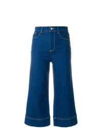 Alice + Olivia Aliceolivia Cropped Flared Jeans