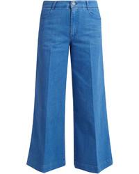 High waisted denim culottes medium 1198613