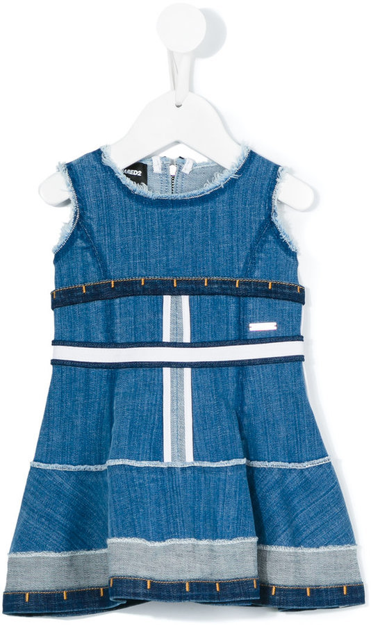 DSQUARED2 Kids Sleeveless Denim Dress