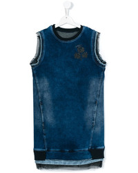 Diesel Kids Teen Sleeveless Denim Dress