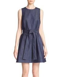 Kate Spade New York Denim Fit Flare Dress