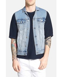 Denim vest medium 230308
