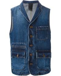 People denim waistcoat medium 230297
