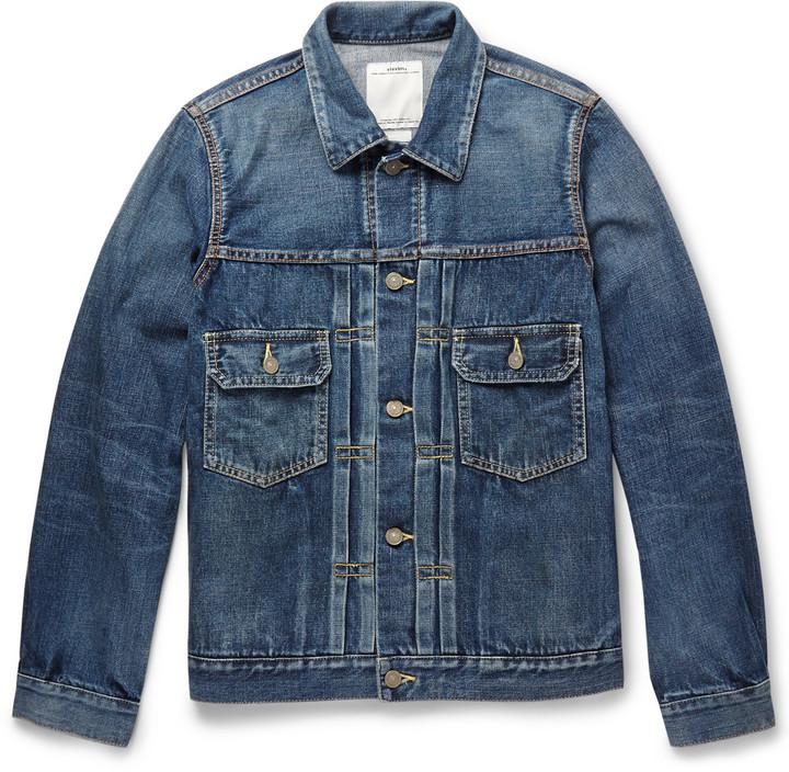 largest selection of 2019 extremely unique promotion £885, VISVIM 101 Washed Denim Jacket