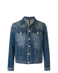 Alexander McQueen Basic Denim Jacket