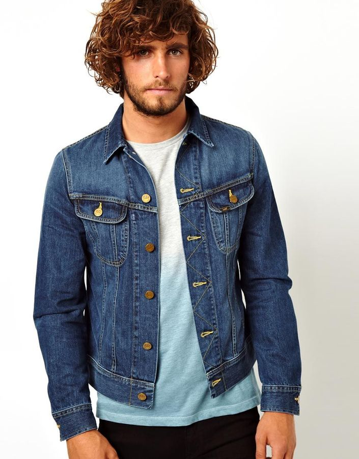 Lee Denim Jacket Rider Slim Fit Epic Blue | Where to buy & how to wear