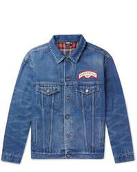 Gucci Oversized Appliqud Denim Jacket