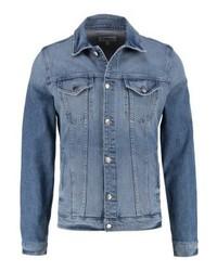 Frame Denim Slim Fit Denim Jacket Voyageur