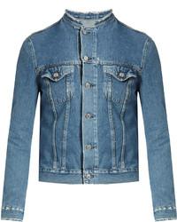 Acne Studios Top Distressed Denim Jacket