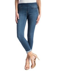 High waist crop stretch denim leggings medium 1310158