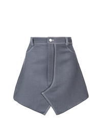 Dion Lee Stitch Denim Mini Skirt