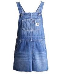 Carhartt WIP Charlotte Denim Dress Blue Prime Stone