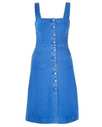 Stella McCartney Linda Denim Pinafore Dress