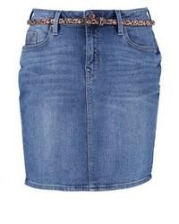 Denim skirt blue denim wash medium 3934549