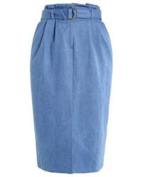 Closet Pencil Skirt Blue