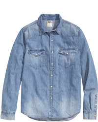 Blue denim shirt original 2767407