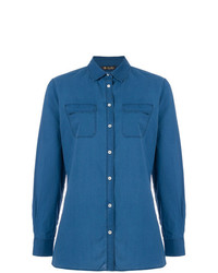 Loro Piana Chest Pocket Denim Shirt