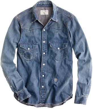 4c5d073659 ... Chimala Denim Western Shirt ...