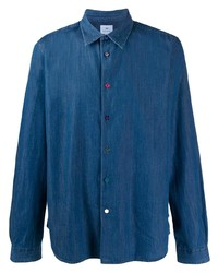 PS Paul Smith Long Sleeve Denim Shirt
