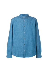 A.P.C. Long Sleeve Denim Shirt