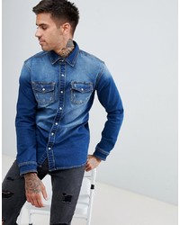 Good For Nothing Muscle Denim Shirt