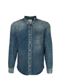 Kent & Curwen Ombr Denim Shirt