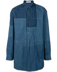 JW Anderson Panelled Denim Shirt