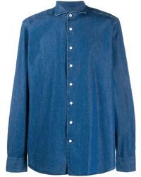 Hackett Plain Denim Shirt