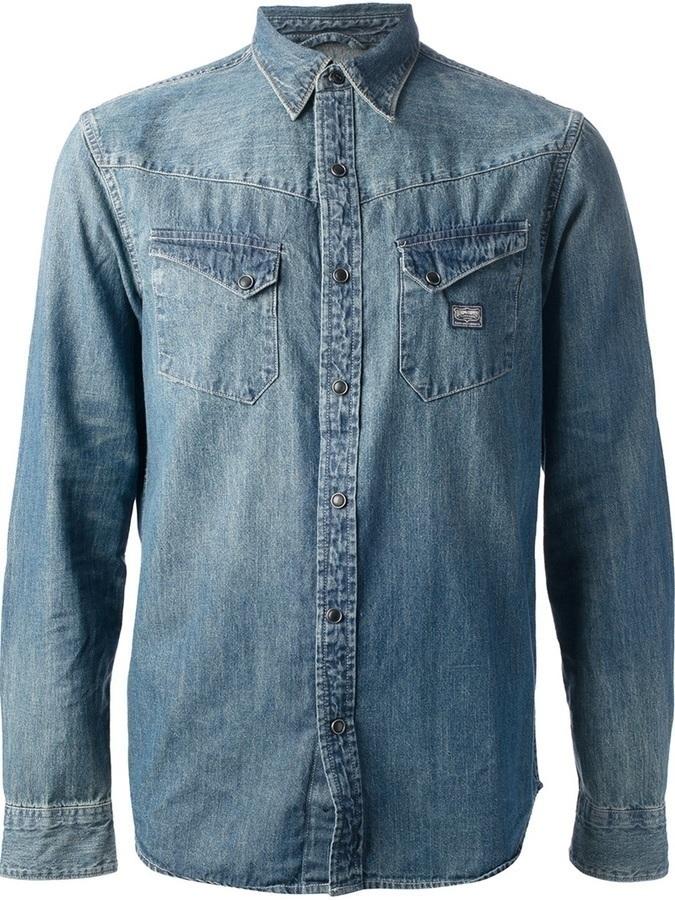 5f87a59de4 Denim   Supply Ralph Lauren Ralph Lauren Denim Supply Denim Shirt ...